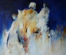 Paula Evers - Three of them - gem. techniek - 100x100 - 3100_933x768