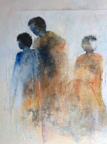 Painting Paula Evers