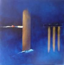 Paula Evers - The bridge - gem. techniek - 90x90 - nr. 108 - 2500_762x768