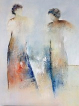 Paula Evers - Together - gem. techniek - 100x80 - nr. 325 - lijst 180 - 3080_574x768