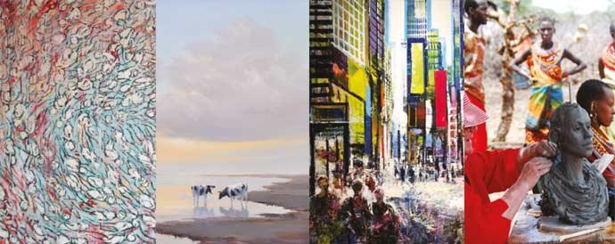 Expositie highlight kunstenaars bij Sous-Terre Aalsmeer