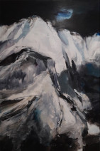 Elies Auer - Challenge - acryl op linnen - 80x120 - Ôé¼ 3000