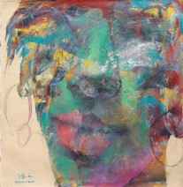 Tahseen al Zaidi Girl 2 60 x 60 cm Acryl op canvas € 1.500,-_751x768
