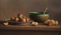 Wil Smits - Metalen Bak-Appels - Olieverf op paneel - 50x80 - 001 - 2500_1024x584