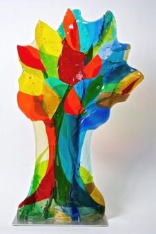 Boomgroep hoog Colored shadow - glas - 52x88 - 2850_514x768