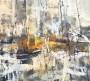 Bernadette Zeegers - No title 4 - Acrylic on linen - Made in 2017 - 90x100 cm