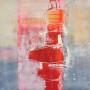Bernadette Zeegers - No title 5 - Acrylic on linen - Made in 2017 - 90x90 cm