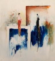 Paula Evers - In de ban van blauw - gem. techniek - 100x90 - nr. 103 - lijst 180 - 3180 (2)_542x600