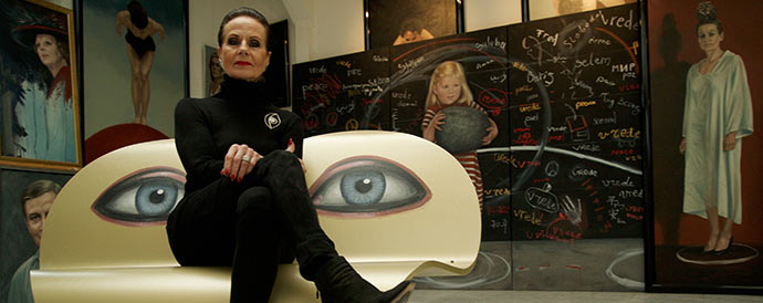 Expositie Highlight kunstenaars met o.a. ANS MARKUS bij Galerie Sous-Terre